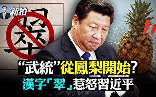【拍案驚奇】翠字惹怒習近平 武統從鳳梨開始?