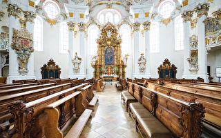組圖:德國維斯朝聖教堂 洛可可式完美傑作