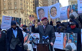"""""""守护天使""""斯利瓦宣布竞选纽约市长"""