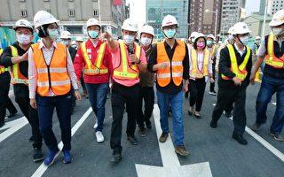 中博高架橋拆除完成 8日6時通車