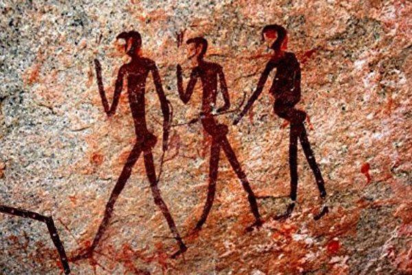 《轉法輪》提及的史前文明案例:遠古壁畫