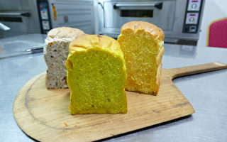 天然酵母 手作麵包散發迷人香氣