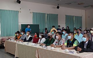 民生國中童軍團3位特教生參與正式入團儀式
