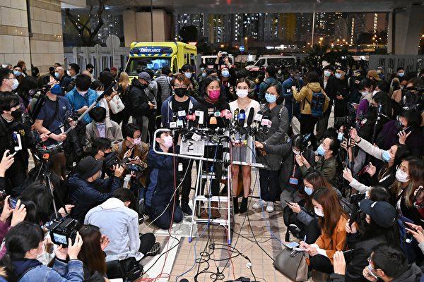 47泛民案获保释者遭律政司提复核 全数还押