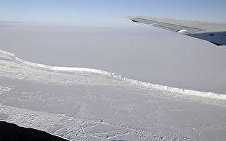 面积比纽约还大 一座巨型冰山崩离南极冰架