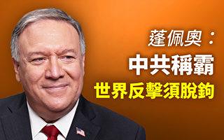 【思想领袖】蓬佩奥:中共称霸 世界反击须脱钩