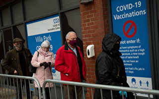 3月英國接種疫苗速度翻倍