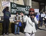 舊金山百餘名居民日落區集會 抗議可負擔住房項目