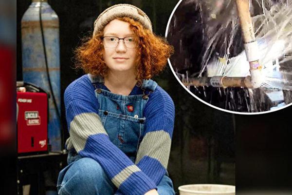 德州冬季風暴 少女巧手修復家中爆裂水管