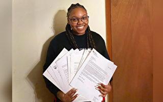 被18所大學錄取 美17歲女孩獲獎學金逾百萬