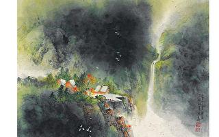 徐明义画集8—一行白鹭上群山(彩墨)
