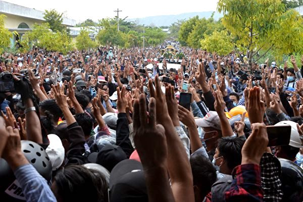 聯合國:緬甸又38人死 政變以來最血腥一天