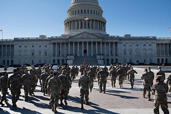 國會警方:民兵組織或密謀4日攻破國會大廈
