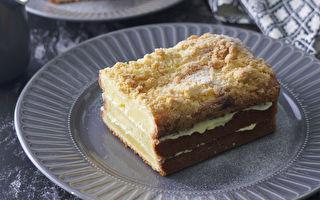 当磅蛋糕遇上酥菠萝 多层次口感更上一层