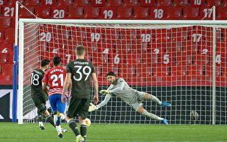 组图:欧联杯1/4决赛首回合 曼联2:0胜格拉纳达
