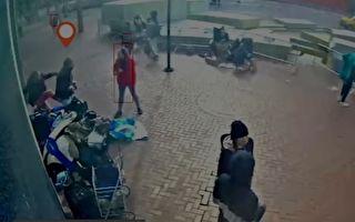 旧金山公布监控录像 辩方称袭华裔老妇者非由仇恨