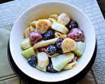 【梁厨美食】扇贝蜜瓜草莓沙拉