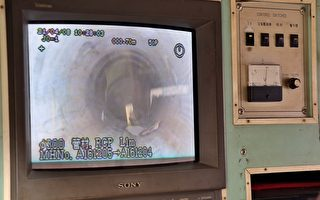 嘉市污水下水道工程   TV检视破管漏水无所遁形