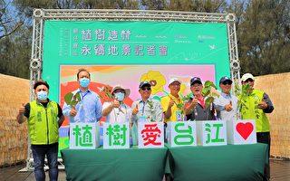慈心携手台江海岸造林 3年种7万棵树