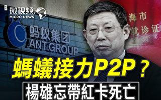 【微视频】习近平防蚂蚁暴雷?传杨雄忘带红卡死亡