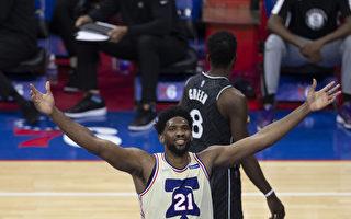 NBA安比德坐阵 76人稳居东区龙头