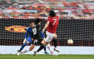組圖:歐聯盃1/4決賽次回合 曼聯總分4:0晉級
