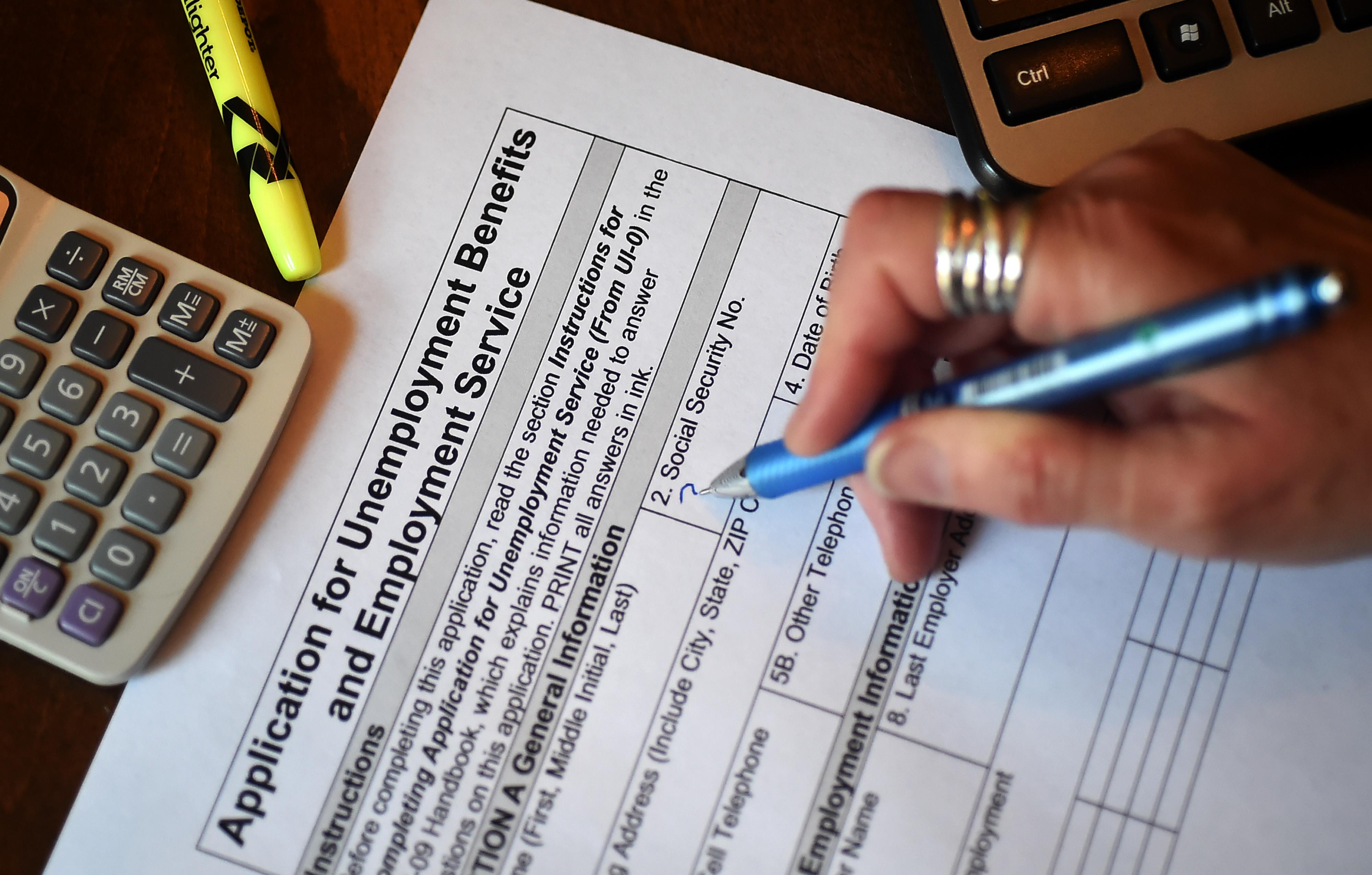 加州申请失业金人数仍居高不下