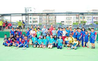 县长杯软网锦标赛开幕 徐耀昌县长为选手加油打气