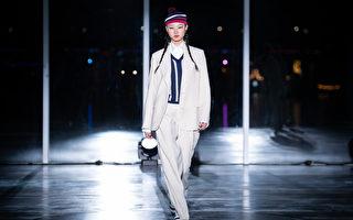 套装时尚LooK  简约率性展现女人自信