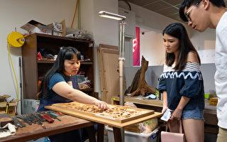 「砌時間」到台灣文博會 體驗傳統工藝