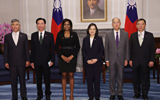 貝里斯大使履新 蔡英文盼深化雙方合作