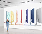 苹果七大新品一次看 全新iPad多色iMac