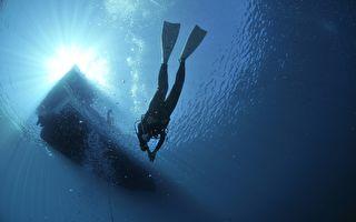 出海翻船被鲨鱼环绕 潜水员苦熬三小时获救