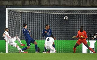 組圖:歐冠盃半決賽首回合 皇馬1:1平切爾西