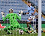 组图:欧冠杯半决赛次回合 曼城2:0胜PSG