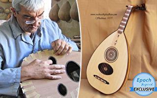 承襲古文化 退休教授手製「中東樂器之王」