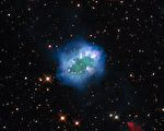 來自宇宙「鑽石項鍊」 NASA公布星像圖