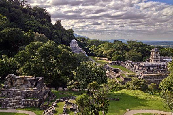 激光探測 考古學家揭祕瑪雅大規模建築遺址