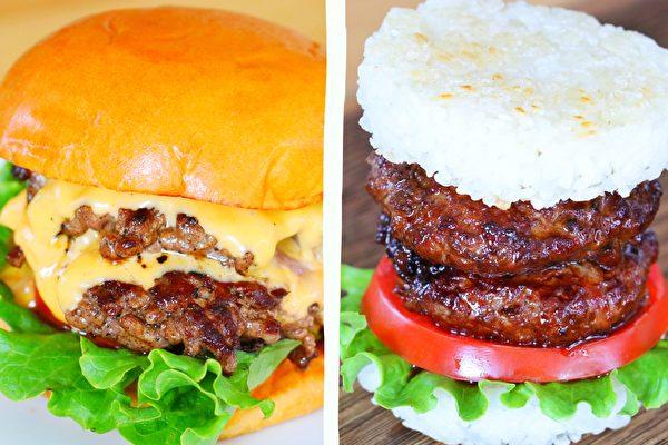 【美食天堂】美式砸碎漢堡VS米飯漢堡!