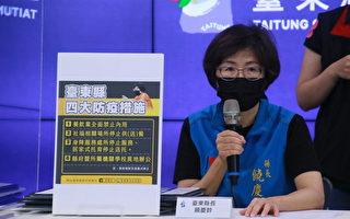 台东2确诊 县府宣布防疫升级餐饮禁内用