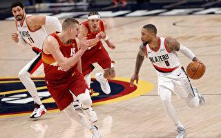 NBA里拉德42分無用 約基奇率隊扳平開拓者