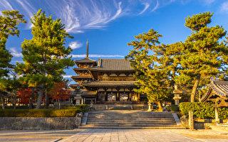 日本第二古老的佛寺:超过一千年的法隆寺