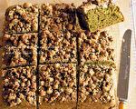 蔬食烘培的甜点 小松菜抹茶蛋糕素食也适合