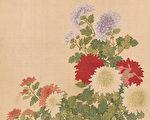 【馨香雅句】清代花鸟画家恽冰 十二月花卉图