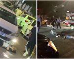 南京爆恶性事件 男子车碾前妻 刀捅路人