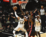 NBA季后赛:雄鹿率先晋级 湖人被太阳扳平