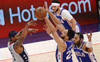 NBA比爾率奇才背水一戰 粉碎76人橫掃美夢