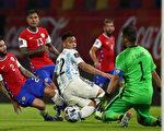 組圖:世界盃預賽 阿根廷主場1:1戰平智利