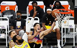NBA布克狂轟47分 太陽晉級湖人止步