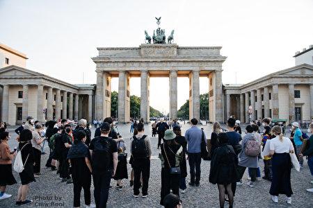 點起蠟燭 香港人在德國各地紀念六四